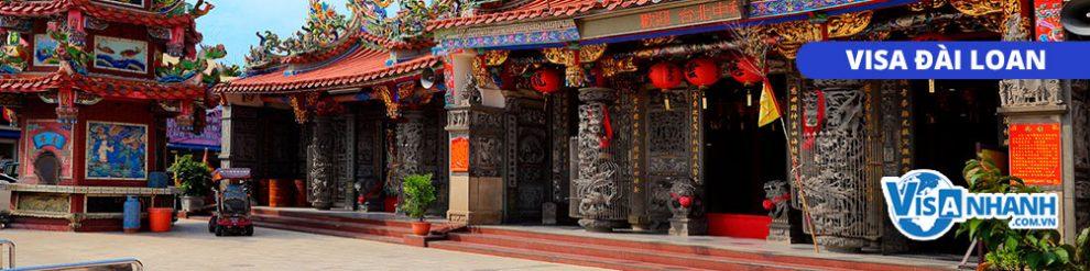 Thủ tục xin visa công tác Đài Loan