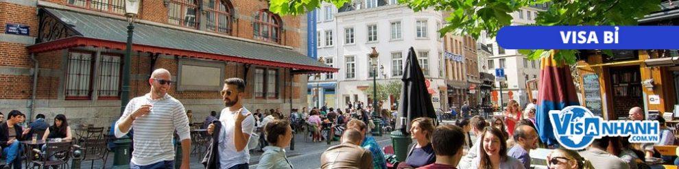 Thủ tục xin visa công tác Bỉ