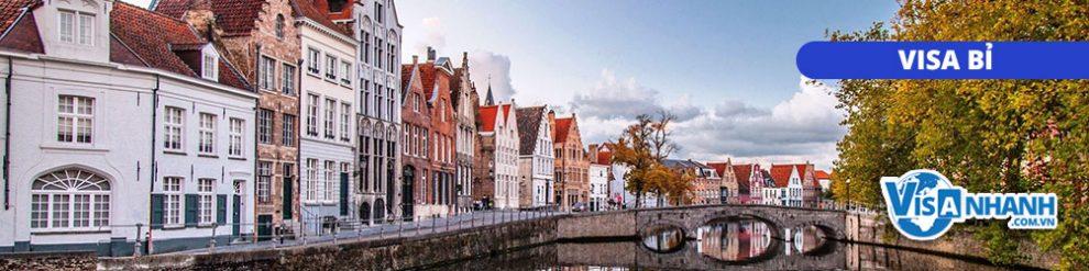 Thủ tục xin visa du lịch Bỉ