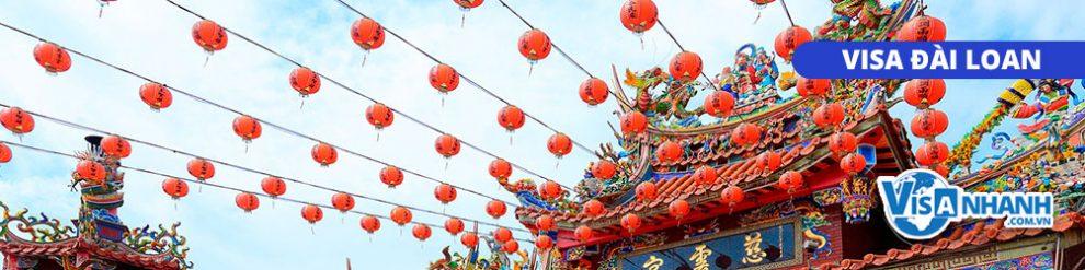 Thủ tục xin visa thăm thân Đài Loan