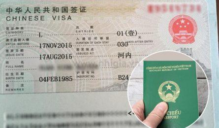 visa đi Trung Quốc tự túc