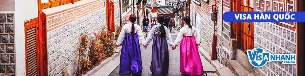 Dịch vụ làm visa Hàn Quốc trọn gói