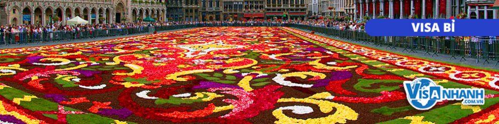 Làm visa đi Bỉ hết bao nhiêu tiền?