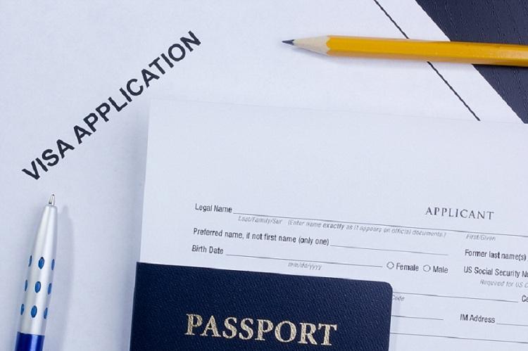 mẫu tờ khai xin visa các nước