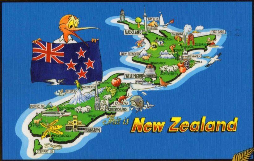 Mẫu tờ khai xin visa New Zealand