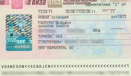 Quy trình nộp hồ sơ visa Nga