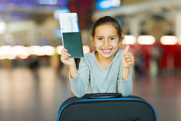 Chi phí làm visa Schengen cho trẻ em