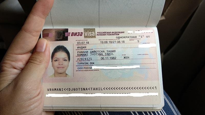 Lưu ý khi xin visa thương mại - công tác Nga