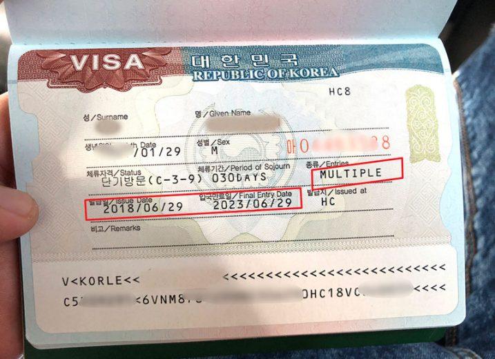 Hàn Quốc tiếp tục thay đổi thủ tục xin Visa 5 năm từ tháng 10/2019